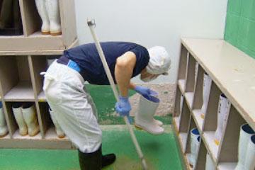 工場設備の衛生管理